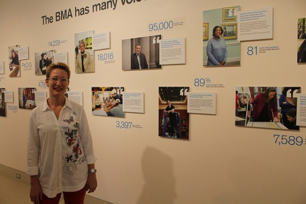 Nancy Proctor, BMA's deputy director for digital experience and communications (Photo by Eugene Y. Santos)